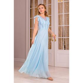 Платье женское MINAKU, цвет голубой, размер 42