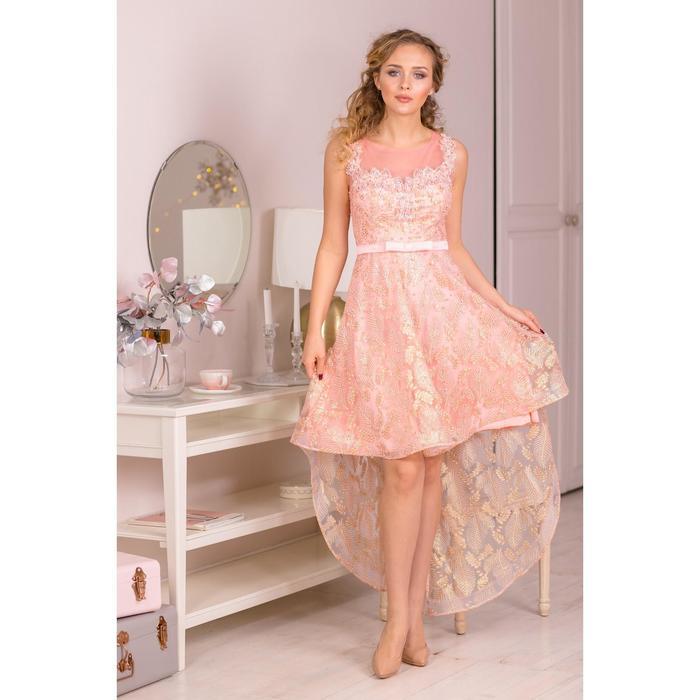 Платье женское MINAKU, цвет розовый, размер 42