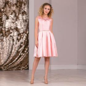 """Платье женское MINAKU """"Primavera"""", размер 42, цвет светло-розовый"""