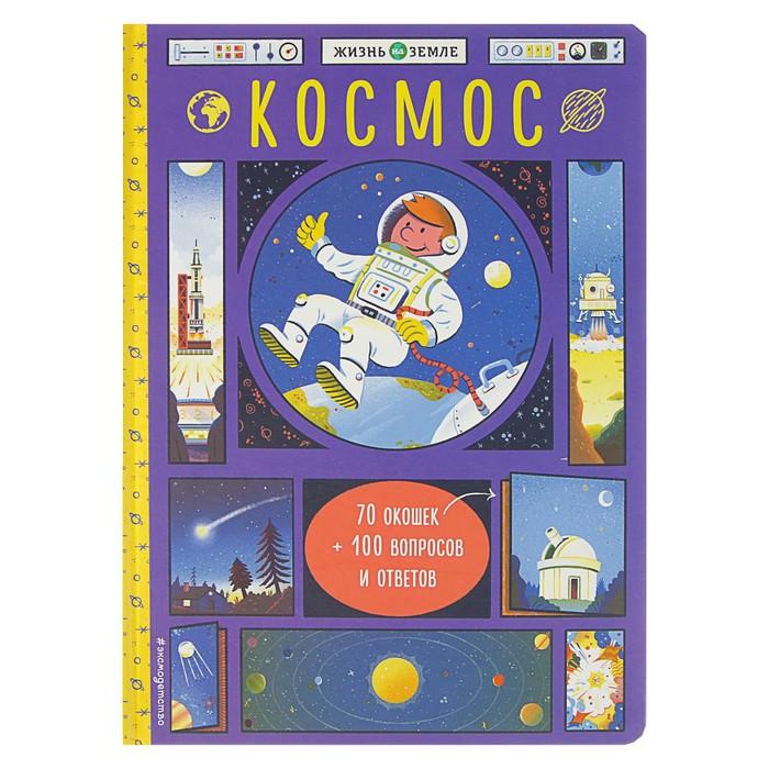 Книжка с окошками «Космос»