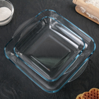 Набор посуды для СВЧ, 2 предмета: 3,2 л, 1,95 л
