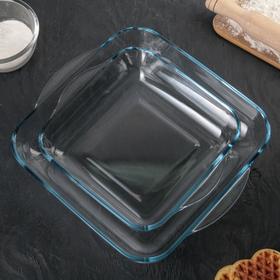 Набор посуды для СВЧ Borcam, 2 предмета: 3,2 л, 1,95 л