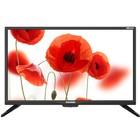 "Телевизор Telefunken TF-LED24S49T2, 24"", 1366x768, DVB-T2, DVB-C, 1xHDMI, 1xUSB, черный"