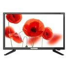 "Телевизор Telefunken TF-LED22S49T2, 22"", 1920x1080, DVB-T2, DVB-C, 1xHDMI, 1xUSB, черный"