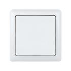 """Выключатель SE """"ХИТ"""", 6 А, 250 В, 1 клавиша, наружный, цвет белый"""
