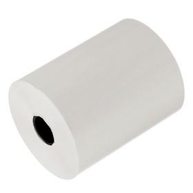 Чековая лента термо 57мм 30м 57х12х30, диаметр ролика 44,9 мм, чёрный оттиск Ош
