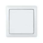 """Выключатель SE """"ХИТ"""", 6 А, 250 В, 1 клавиша, наружный, с изолирующей пластиной, цвет белый"""