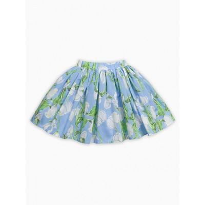 Юбка для девочки, рост 110 см, цвет лазурный