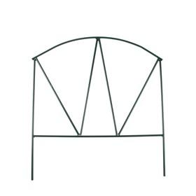 Ограждение декоративное, 65 × 325 см, 5 секций, металл, «Арена»