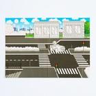 Набор наклеек с раскраской «Город», 14.5 х 21 см в наличии - фото 106109128
