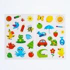 Набор наклеек с раскраской «Изучаем цвета», 14.5x21 см в наличии - фото 106109138