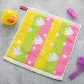 Полотенце Крошка Я «Рыбки» цвет розовый 26×26 см, 100% хлопок Ош