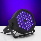 Прожектор PAR для сцены, 220 В, 36х1,5 Вт RGB, DMX512/АВТО/ЗВУК/Master-Slave