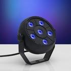 Прожектор PAR для сцены, 220 В, 6х1,5 Вт, RGB, АВТО/ЗВУК