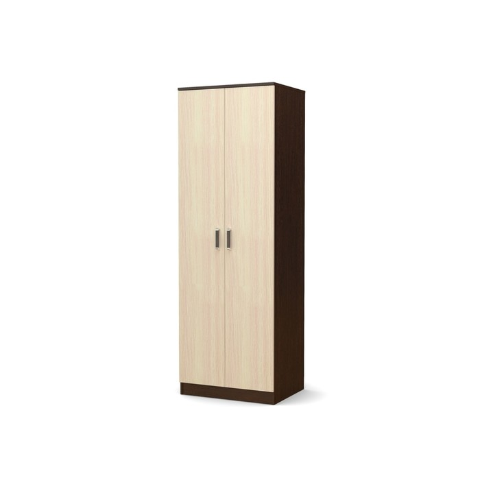 Шкаф 2-х створчатый малый Эксон 676х518х2000 венге/дуб млечный