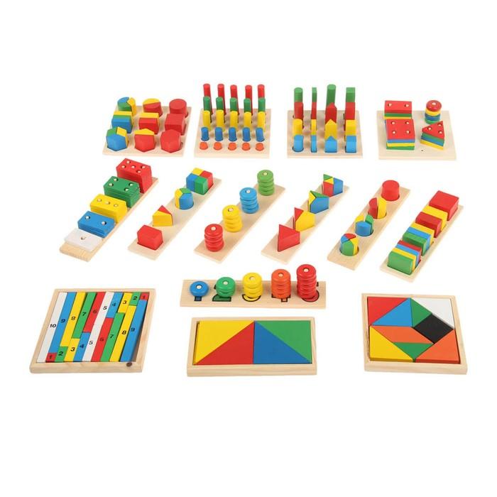 """Развивающий набор """"Развитие"""", 14 предметов  в пакете"""