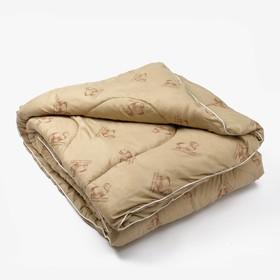 Одеяло Овечья шерсть 140х205 см, файбер, п/э 100%