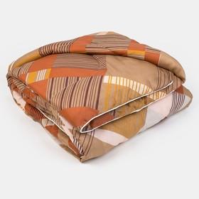 Одеяло, размер 140х205 см, цвет МИКС, файбер