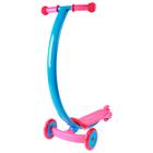 Scooter steel PVC wheels d=120/80 mm ABEC 7, color pink