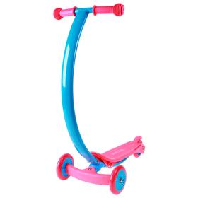 Самокат стальной, колеса PVC d=120/80 мм, ABEC 7, цвет розовый