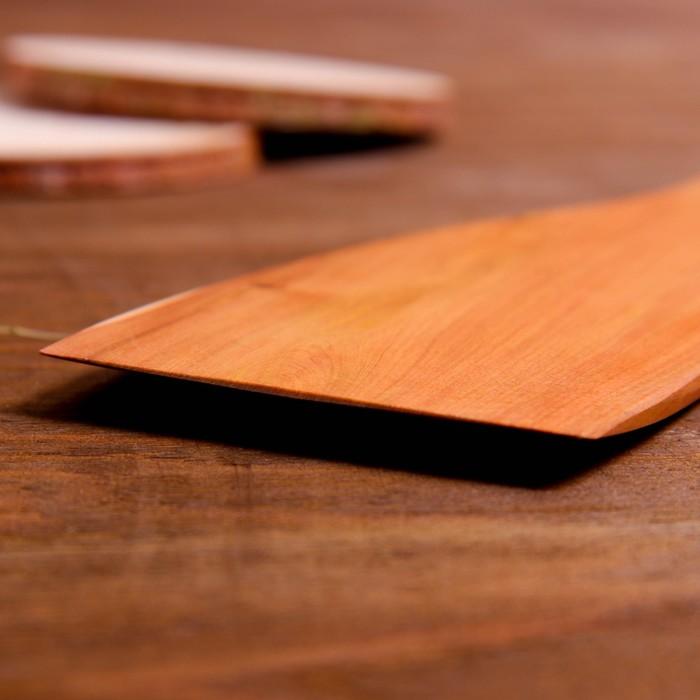 Лопатка кухонная «Будьте здоровы, живите богато», можжевельник