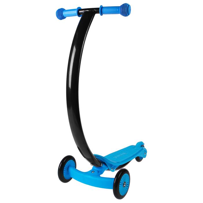Самокат стальной, колеса PVC d=120/80 мм, ABEC 7, цвет синий
