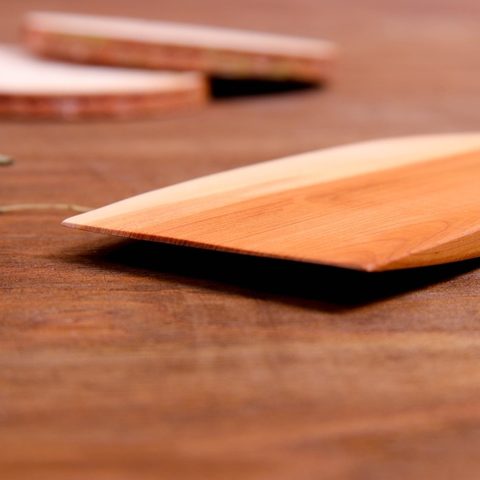 Лопатка кухонная «Подруге на удачу», можжевельник