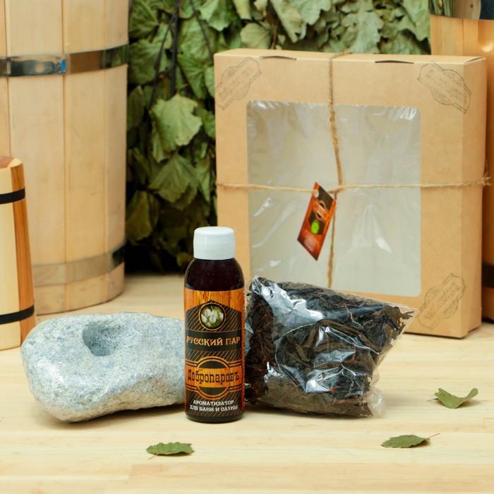 """Подарочный набор «Добропаровъ», 3 предмета: """"Чай масала"""", арома, испаритель"""