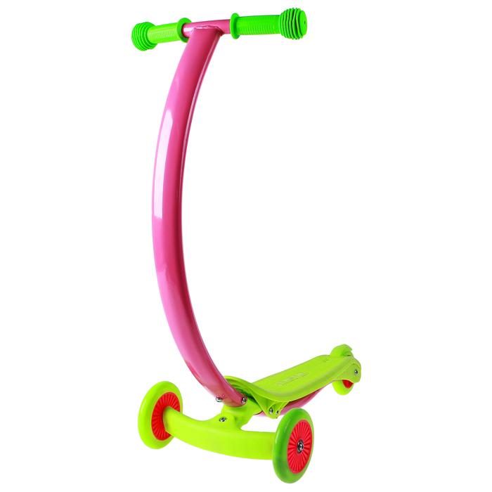 Самокат стальной, колеса PVC d=120/80 мм, ABEC 7, цвет зеленый