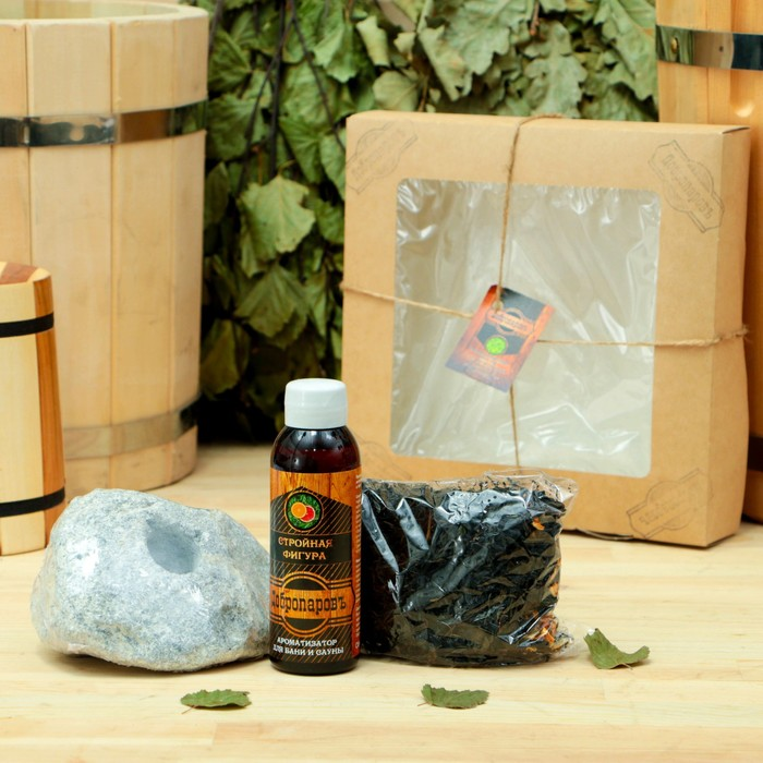 Подарочный набор «Добропаровъ», 3 предмета: Иван-чай с цедрой мандарина, арома, испаритель