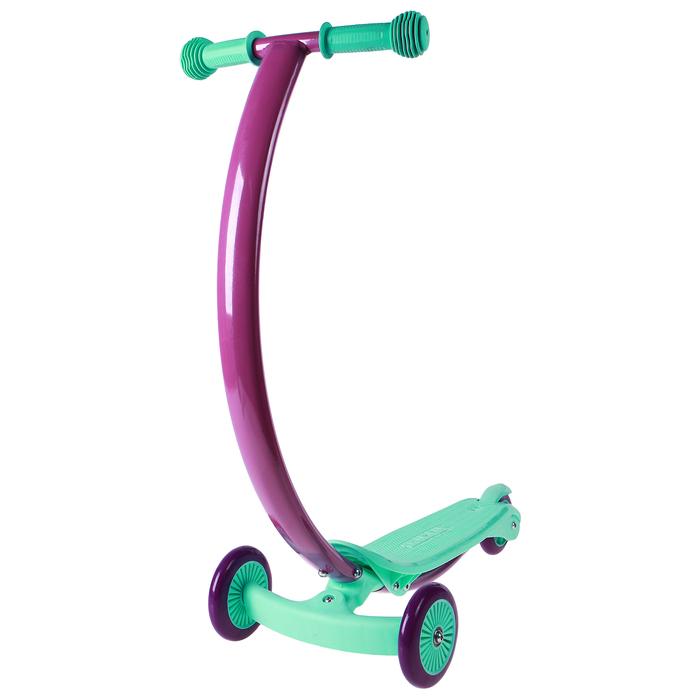 Самокат стальной, колеса PVC d=120/80 мм, ABEC 7, цвет мятный