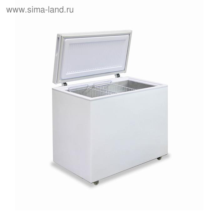 """Морозильный ларь """"Бирюса"""" 305VK, 285 л, однокамерный, белый"""