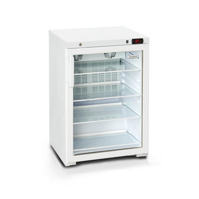 "Холодильная витрина ""Бирюса"" 154DNZ(CZV), 154 л, однокамерная, белая"
