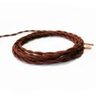 Retro wire for Internet Luazon Lighting, color terracotta, 50 m