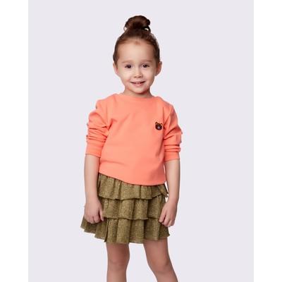 Толстовка детская MINAKU, рост 80, цвет оранжевый