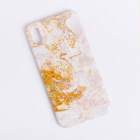 """Phone case for iPhone XS MAX """"Marble"""", 16 × 8 cm"""