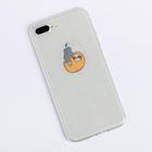 Чехол для телефона iPhone 7 Plus/8 Plus Sloth, 16 × 8 см