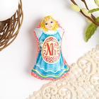 """Easter souvenir magnet """"XT"""" (ornament), 6.5 x 9.7 cm"""