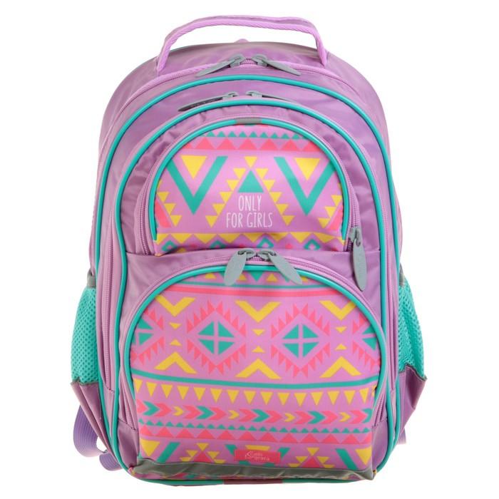 Рюкзак школьный с эргономической спинкой Calligrata Пиноккио 36x23x13 см для девочки, «Этник»