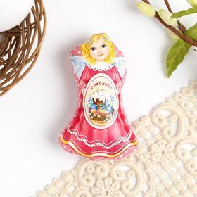 Пасхальный сувенир на магните «Ангел с куличом», 6.5 × 9.7 см в Донецке