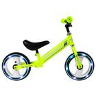 """Беговел GRAFFITI 10"""", колеса световые, цвет зелёный"""
