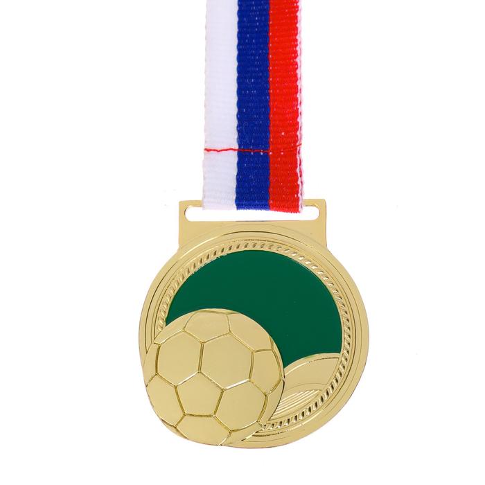 """Медаль тематическая 126 """"Футбол"""", диам. 4,5 см"""