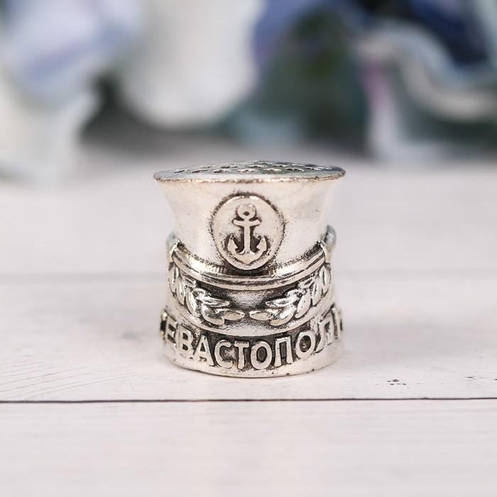Напёрсток сувенирный «Севастополь», сeрeбро - фото 691070
