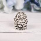 Напёрсток сувенирный «Новосибирск», сeрeбро - фото 691121