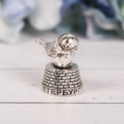 Напёрсток сувенирный «Санкт-Петербург», серебро - фото 397851