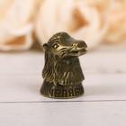 """Thimble souvenir """"Chelyabinsk"""" brass, 2 x 3 cm"""