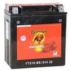 Аккумуляторная батарея Banner Bike Bull 14 Ач 51422 (YTX16-BS)