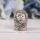 Напёрсток сувенирный «Красноярск», сeрeбро - фото 691145