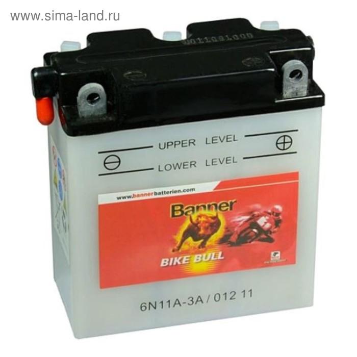 Аккумуляторная батарея Banner Bike Bull 11 Ач 01211 (6N11A-3A) 6 Вольт