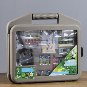 Микроскоп 'Практика' 100х-400х-1200х, набор для исследований Ош